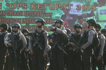 Ribuan Polisi dan TNI Jaga Bandara Soekarno-Hatta