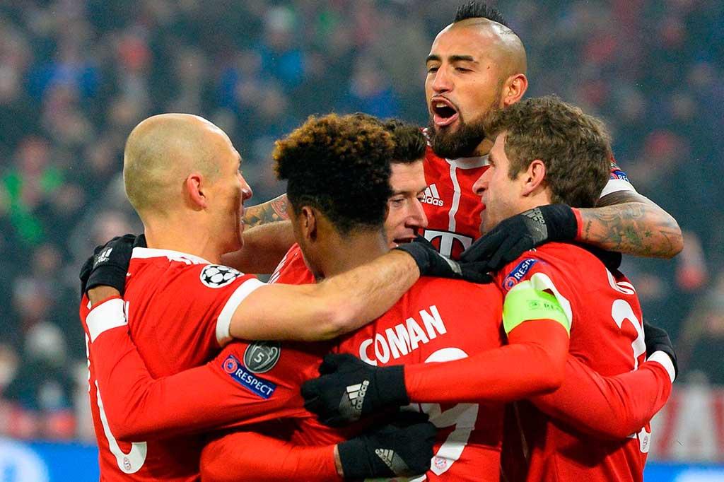 Bayern Lumat Besiktas 5-0