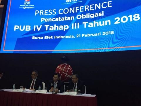 SMF Terbitkan Obligasi PUB IV Tahap III-2018 Senilai Rp2 Triliun
