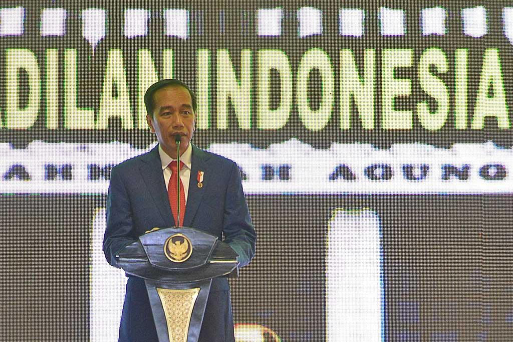 Presiden Ingatkan Calon Hakim Jaga Kepercayaan