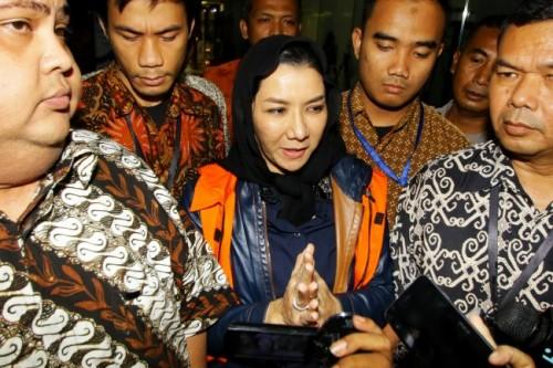Bupati nonaktif Kutai Kartanegara (Kukar) Rita Widyasari