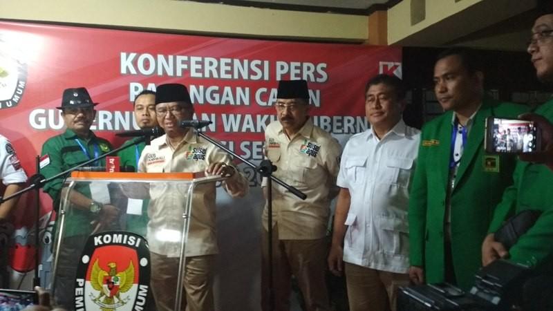 Usungan Partai Gerindra di Pilgub Sulsel, Agus Arifin Nu'mang dan Tanribali Lamo