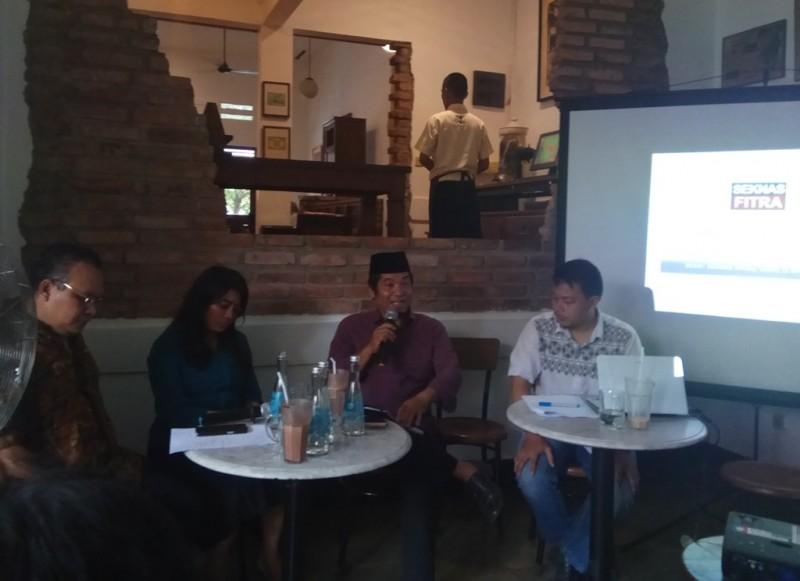 Ilustrasi--Suasana diskusi 'APBD di Tahun Politik', di kawasan Cikini, Jakarta Pusat, Rabu, 21 Februari 2018--Medcom.id/Faisal Abdalla