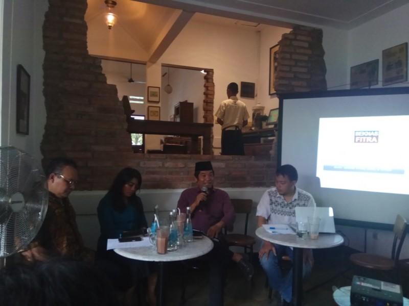 Diskusi 'APBD di Tahun Politik', di kawasan Cikini - Medcom.id/Faisal Abdalla.