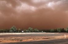 Badai Debu Oranye Selimuti Kota di Australia
