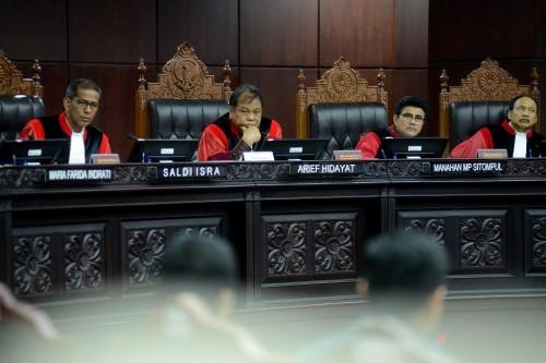 Ketua Mahkamah Konstitusi Arief Hidayat. MI/Susanto.