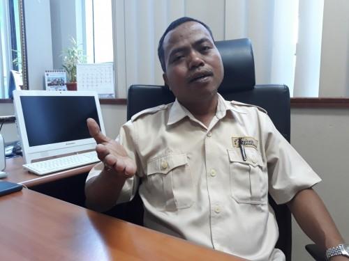 Kepala Bagian Humas Badan Nasional Penempatan dan Perlindungan Tenaga Kerja Indonesia (BNP2TKI) Servulus Bobo Riti - Medcom.id/Sunnaholomi Halakrispen.