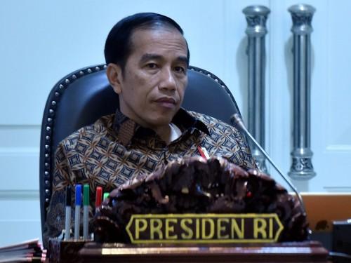Presiden Joko Widodo. (Foto: Antara/Puspa Perwitasari).