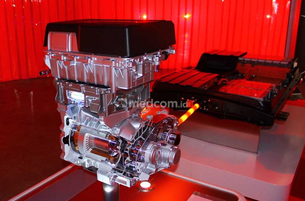 Mesin Listrik, Baterai dan Port Charging Nissan Leaf