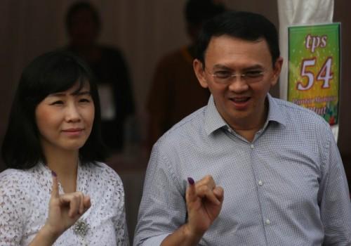 Calon Gubernur DKI Jakarta nomor urut 2 Basuki Tjahaja Purnama
