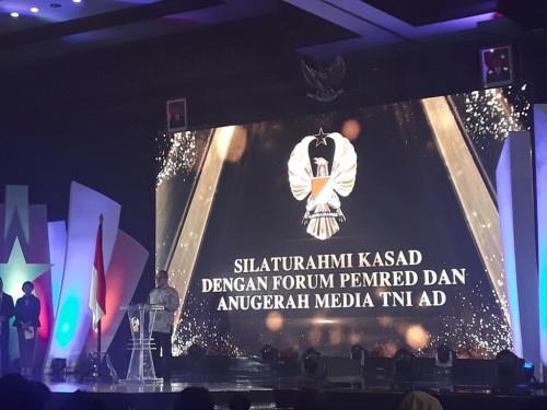 Silaturahmi KSAD dengan media di Balai Kartini - Medcom.id/M