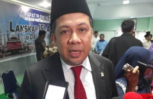 Wakil Ketua DPR Fahri Hamzah. (MTVN/M Sholahadhin Azhar)