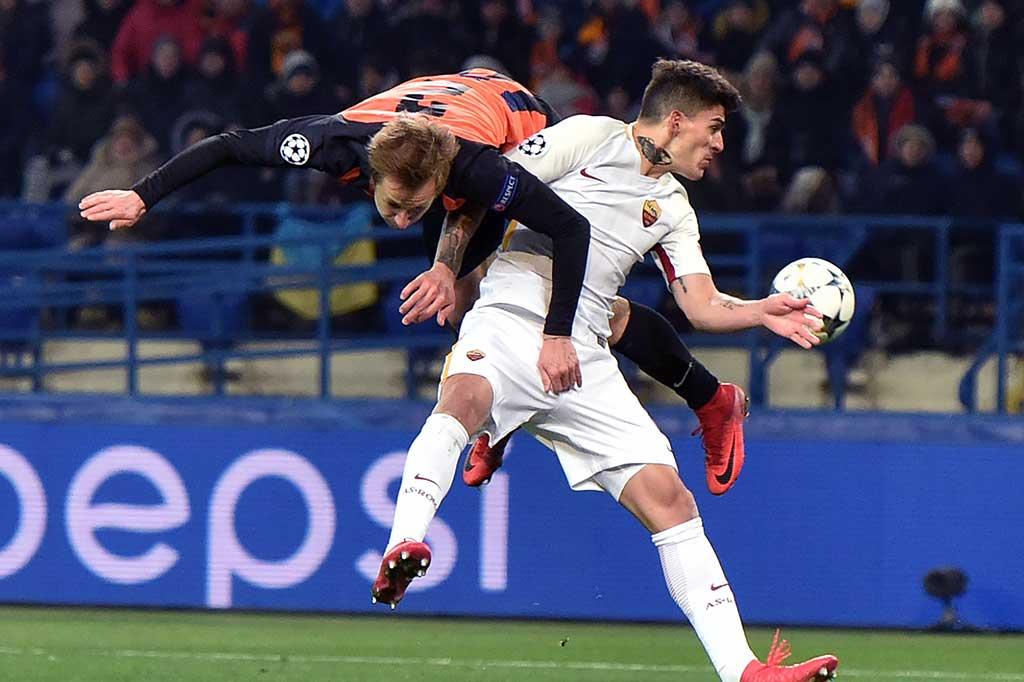 Shakhtar Menang 2-1 Atas Roma