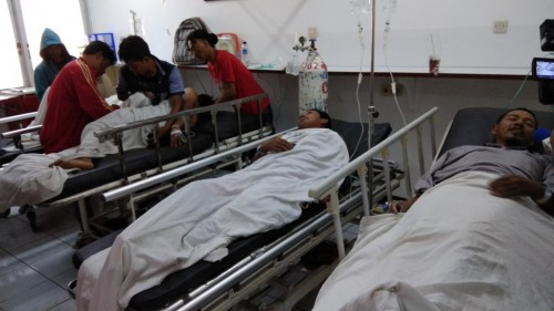 Korban ambruknya bekisting pier head proyek Tol Becakayu -