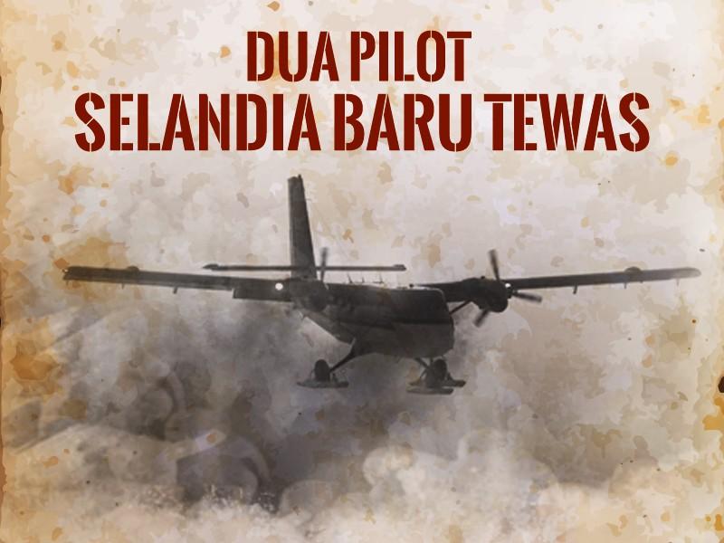 Hari Ini: Dua Pilot Selandia Baru Tewas