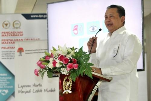 Ketua DPR Bambang Soesatyo. MI/Susanto.