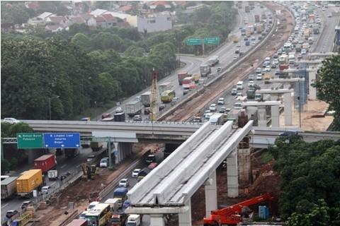 Proyek Tol Jakarta-Cikampek - ANT/Risky Andrianto.