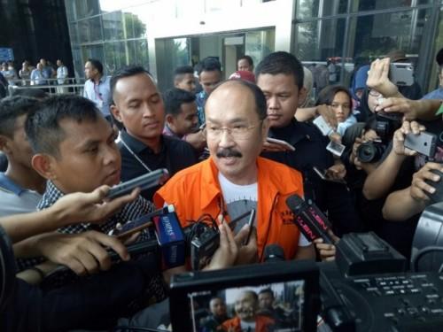 Terdakwa kasus merintangi penyidikan korupsi KTP-el, Fredrich
