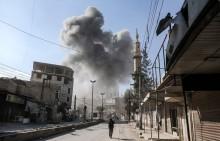 Ghouta Timur Masih Terkepung Pertempuran, Bantuan Sulit Masuk