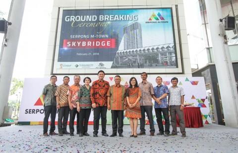 Pembangunan Sky Bridge Serpong M-Town Resmi Dimulai