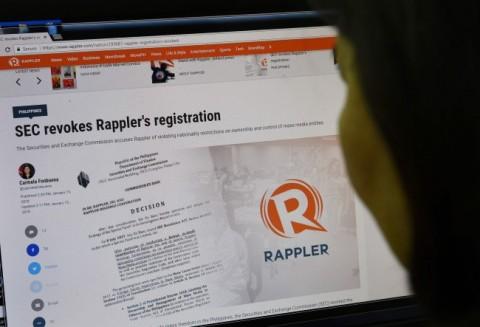 Duterte Tuding Media Rappler Disokong AS