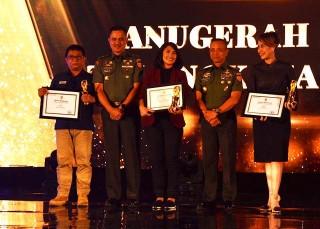 Penghargaan TNI AD untuk 360 Metro TV