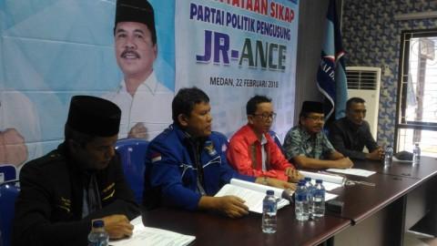 Partai Pengusung JR Saragih-Ance Merasa Dizalimi KPU