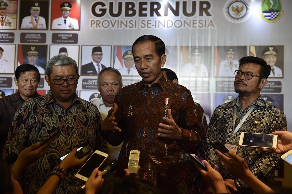 Jokowi Hadiri Rakernas APPSI di Bandung