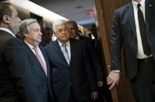 Presiden Palestina Sempat Cek Kesehatan di AS