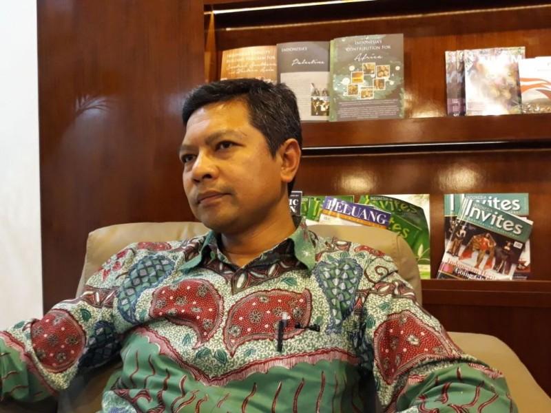 Direktur Asia Tenggara Denny Abdi sebut Indonesia tidak akan ikut campur proses repatriasi di Myanmar. (Foto: Marcheilla Ariesta).