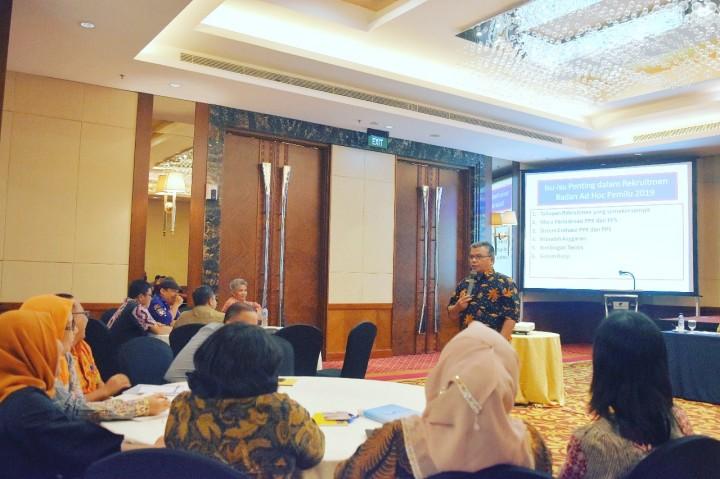 KPU Sumut Gelar Rakor Pembentukan Badan Adhoc Pemilu 2019