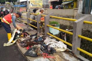 Tol Air tak Halau Banjir dari Jalan Pagarsih