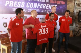 Renovasi Stadion, Bali United Gandeng Sponsor Baru
