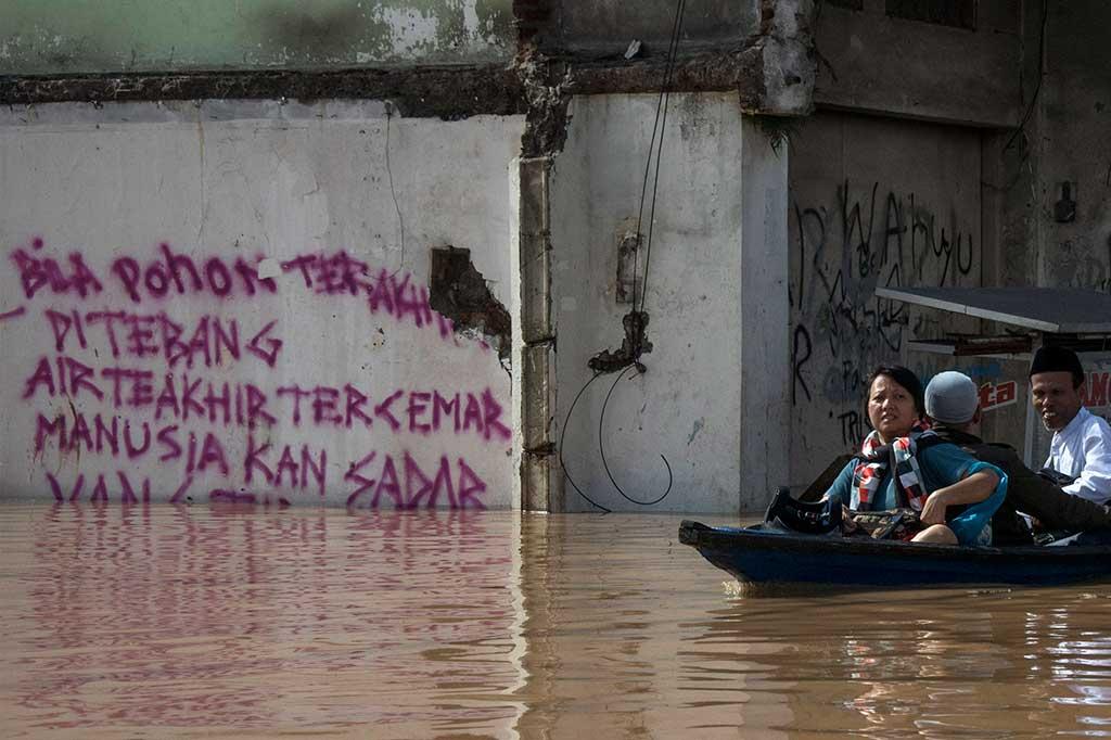 Tujuh Kecamatan di Kabupaten Bandung Dilanda Banjir