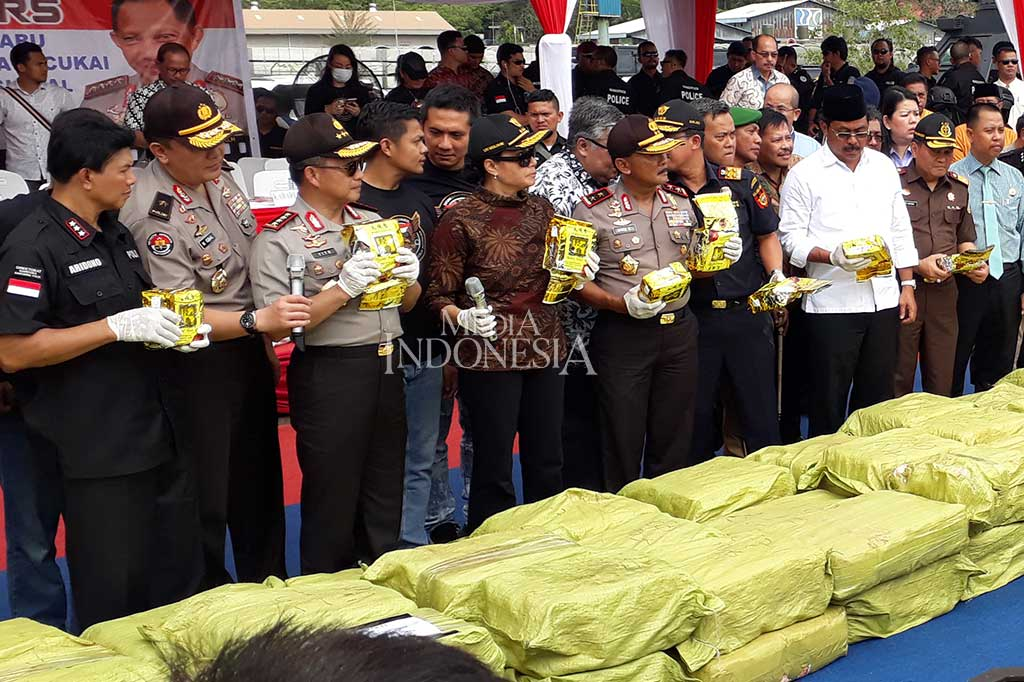 Jenderal Tito: Polisi Intai Kapal Sabu 1,6 Ton Sejak 2017
