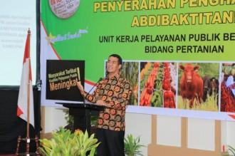 Mentan Ungkap Kunci Keberhasilan Sektor Pertanian