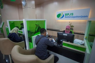 Januari, Iuran BPJS Ketenagakerjaan Capai Rp3,54 Triliun