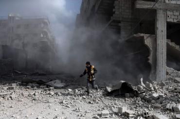 Serangan Beruntun di Ghouta Timur Tewaskan Hampir 500 Warga