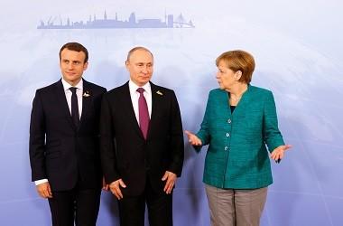 Macron dan Merkel akan Bicarakan Suriah dengan Putin