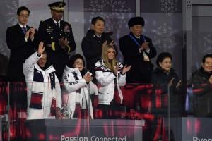 Tak Ada Interaksi antara AS-Korut di Penutupan Olimpiade