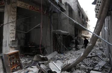 Suriah Dituding Gunakan Gas Klorin di Ghouta Timur