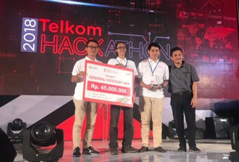 Gifood Juarai Telkom Hackathon 2018
