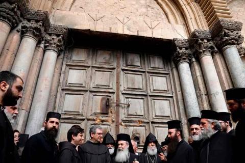 Ditarik Pajak Baru, Gereja di Yerusalem Putuskan untuk Tutup