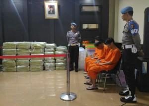 Penyelundup 1,6 Ton Sabu Ditawari Status JC