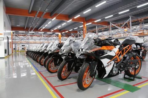 Penjualan Unit Pabrikan Motor Eropa Kompak Naik