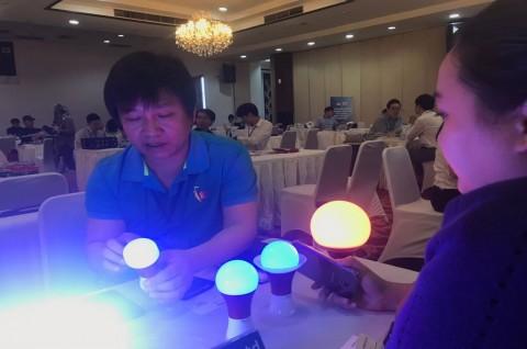 Pengusaha Korsel Tawarkan Lampu LED Unik untuk Pasar RI