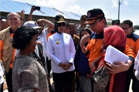 Pembangunan 1.098 Unit Rumah Korban Sinabung Dikebut