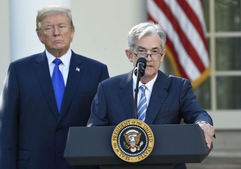Gubernur Federal Reserve Jerome Powell. (FOTO: AFP)