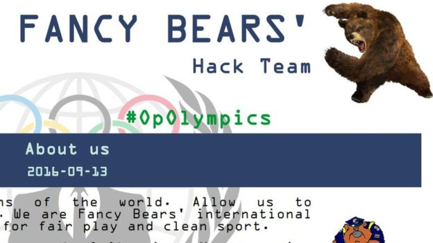 Kelompok hacker Fancy Bear asal Rusia. (Foto: BBC)