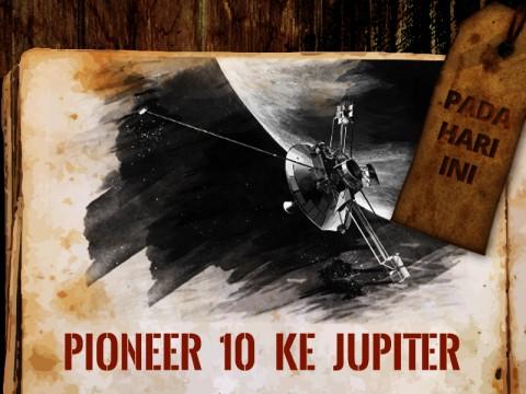 Hari ini: Satelit Pioneer 10 ke Jupiter